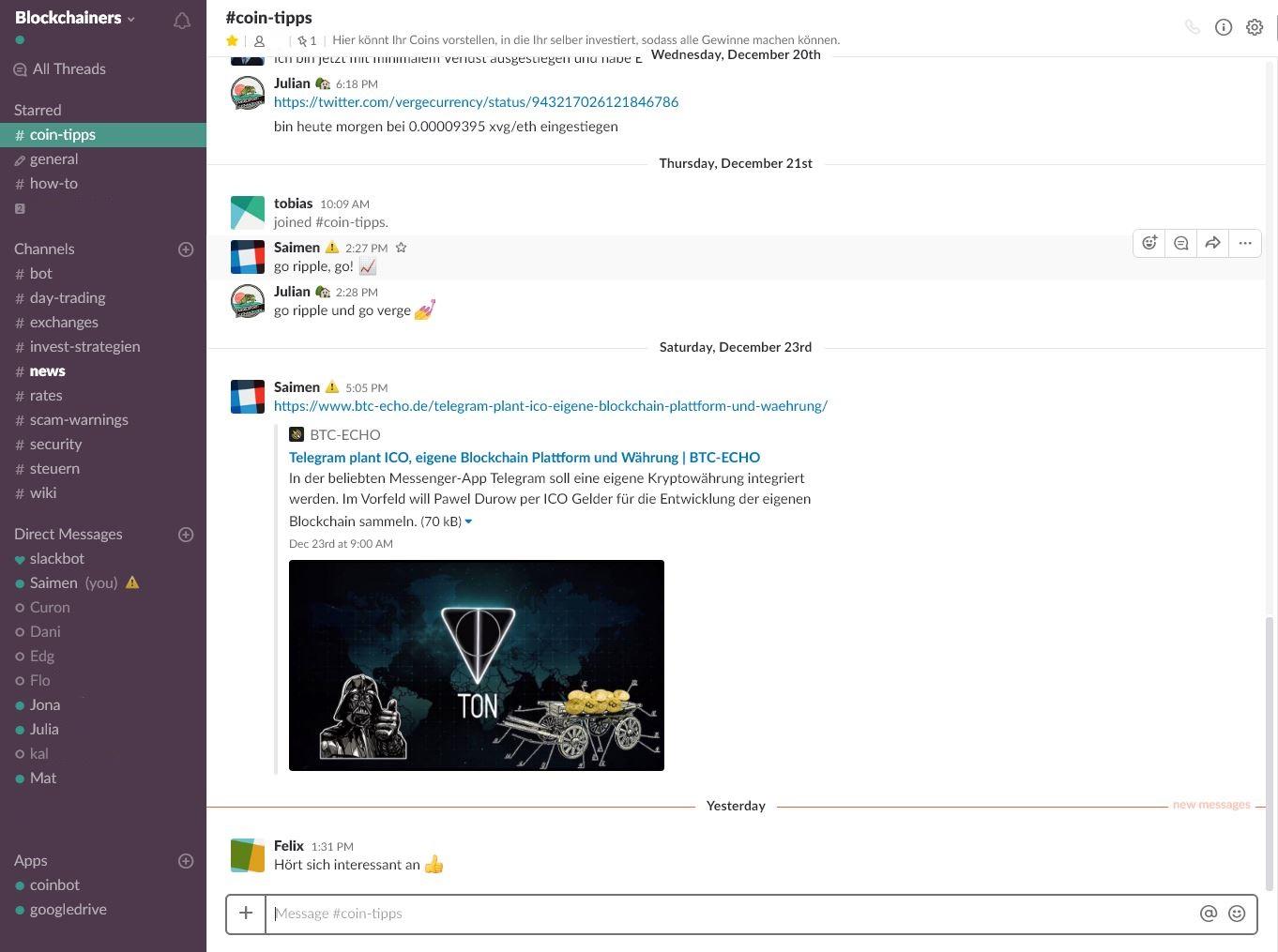 Blockchainers Community